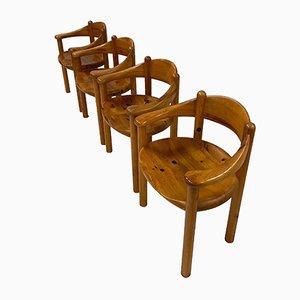 Dänische Esszimmerstühle von Rainer Daumiller für Hirtshals Sawmill, 1960er, 4er Set
