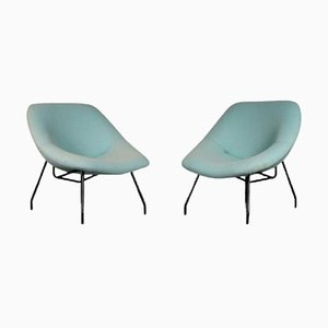 Lounge Chairs from GAR, France, 1950s, Set of 2