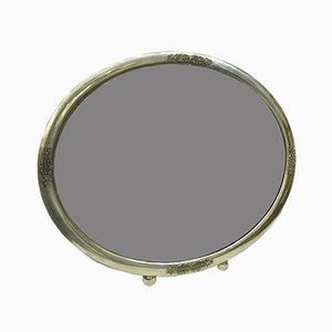 Art Deco Silver Mirror