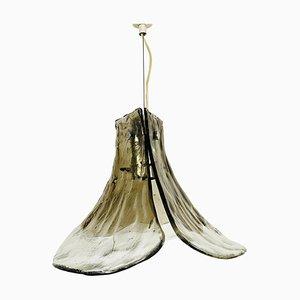 Murano Glas Hängelampe von Carlo Nason für Kalmar Franken, 1960er