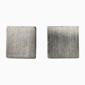 Gemelli in argento di Karl-Ingemar Johansson, set di 2