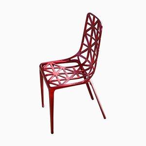 Chaise New Eiffel Tower Rouge par Alain Moatti