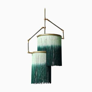 Lampe à Suspension Charme Verte par Sander Bottinga
