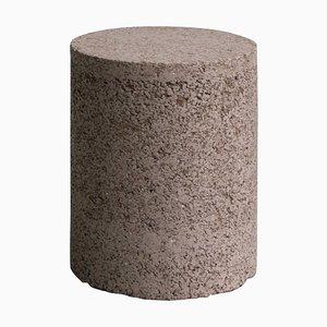 Tabouret Cylindrique Recycling Reject par Tim Teven