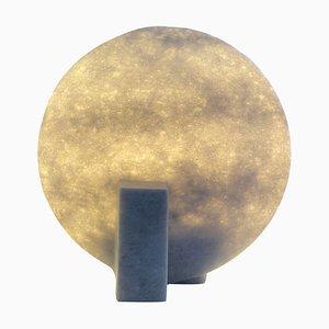 Einzigartige Tischlampe aus Marmor von Tom von Kaenel