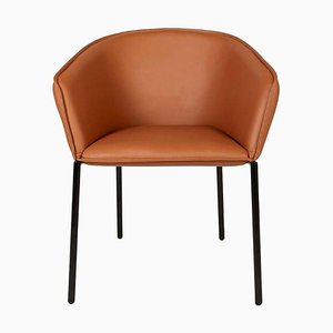 Leather You Chaise Chair by Luca Nichetto
