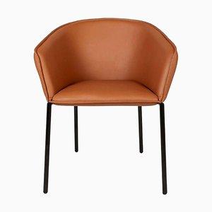 Leder You Chaise Chair von Luca Nichetto