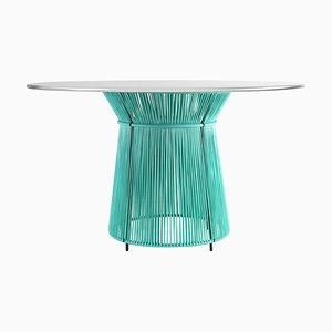 Mint Caribe Dining Table by Sebastian Herkner