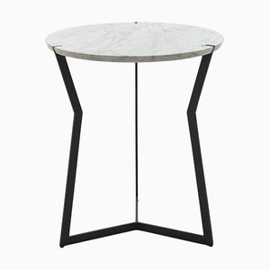 Carrara Marble Star Side Table by Olivier Gagnère