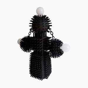 Unique Sculptural Lighting Structure by Ia Kutateladze, Set of 4