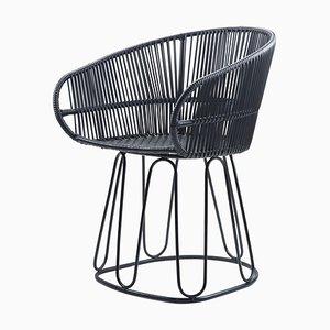 Black Circo Dining Chair by Sebastian Herkner