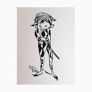 Le Manuscrit Trouvé, Buch von Pablo Picasso, 1919 illustriert