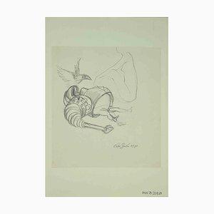 Leo Guida, Skizze, Originalzeichnung, 1971