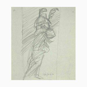 Leo Guida, Sketch, Original Drawing, 1970