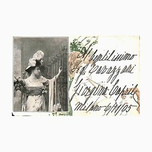 Unbekannt, Giorgina Caprile Original Photocard, 1905