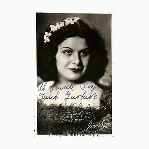 Unbekannt, Fernanda Basile Autogrammkarte, 1941