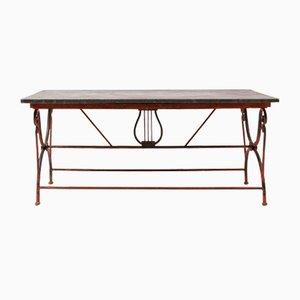Gartentisch aus Blaustein, 19. Jh