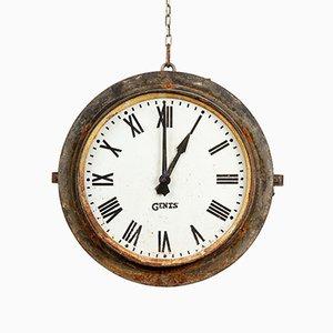 Beleuchtete Uhr von Gents of Leicester, 1930er