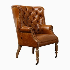 Tan Leather Petworth Armchair