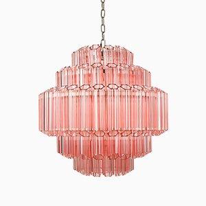Pink Palermo Chandelier