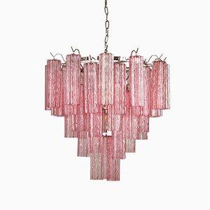 Pink Treviso Chandelier