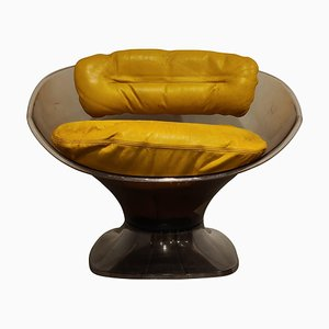 Vintage Club Chair by Raphaël Raffel, 1970s