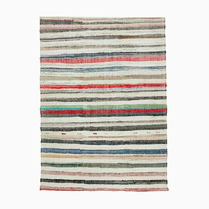 Mehrfarbiger anatolischer Kelim Teppich