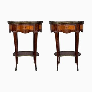 French Nightstands, 1910s, Set of 2
