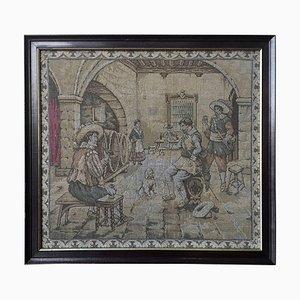 Spätes 17. Jh. Allegorische Flämische Renaissance Wandteppiche
