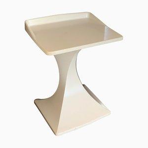 Italian Mid-Century Pedestal Side Table