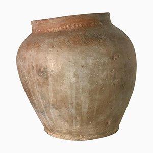 Vase Irrégulier Fait Main en Terracotta, Espagne, 18ème Siècle