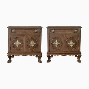 20th Century French Nightstands, Set of 2