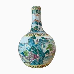 Große Tianqiuping oder kugelförmige Cloisonné Vase, frühes 20. Jh