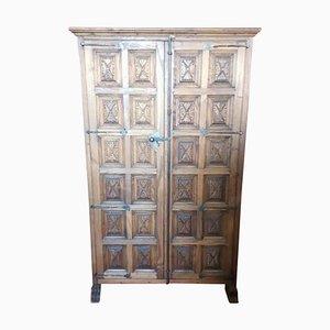 18th Century Spanish Castillian Influence Cupboard or Cabinet in Walnut
