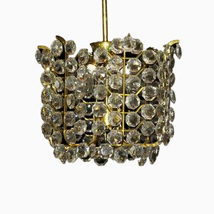 Lampe à Suspension en Cristal de J. & L. Lobmeyr