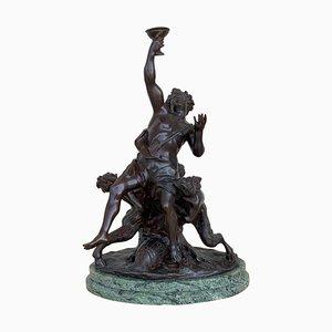 Estatua de bronce fundido de un ángel querubín de Ferdinando De Luca, Italy
