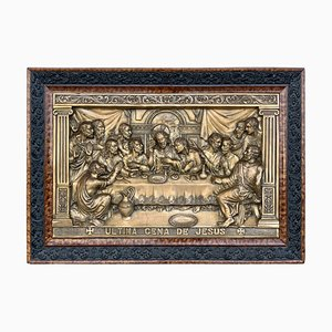 20th Century the Last Supper Metal Relief
