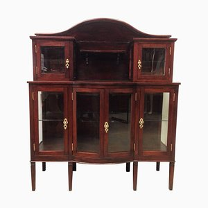 Mahogany Grand Buffet with Crest