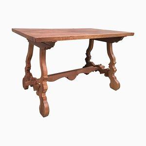 Spanischer Kiefernholz Tisch, frühes 20. Jh