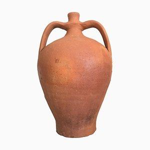 Terrakotta Urne mit zwei Griffen, 19. Jh., Spanien