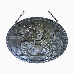 19th Century Bronze Masterpiece with Cherubs