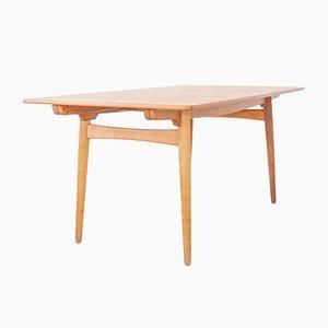 AT-310 Dining Table by Hans J. Wegner for Andreas Tuck, 1950s, Denmark