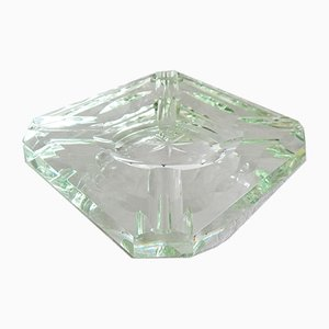 Saint Gobain Glass Ashtray, France, 1920s