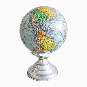 Earth Globe Tischlampe von Girard Barrère & Thomas, Frankreich, 1940er