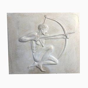 Art Deco Plaster Archer