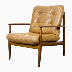 Mid-Century Danish Teak Lounge Chair by Grete Jalk for France & Daverkosen, 190s