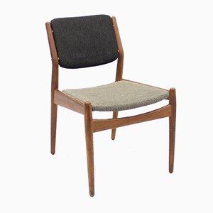 Teak Beistellstuhl von Arne Vodder & Anton Borg für Sibast, 1950er
