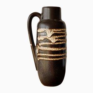 Mid-Century Minimalist West German Model 275-20 Fat Lava Ceramic Vase from Scheurich, 1970s
