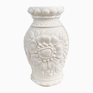 Grand Vase Floral Modèle 287-25 Mid-Century en Céramique de Scheurich