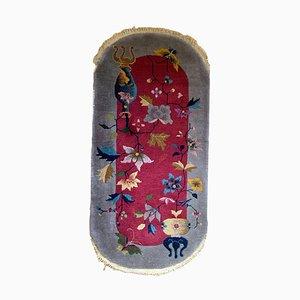 Antique Chinese Art Deco Rug, 1920s
